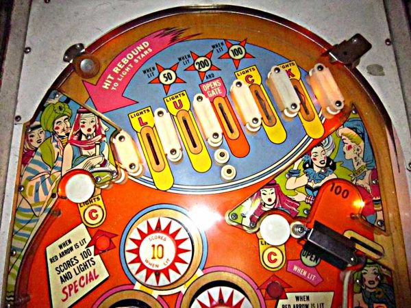 Bazaar Pinball Machine by Bally