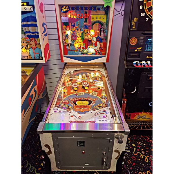 Bazaar Pinball Machine Clearwater 1 600x600 - Bazaar Pinball Machine