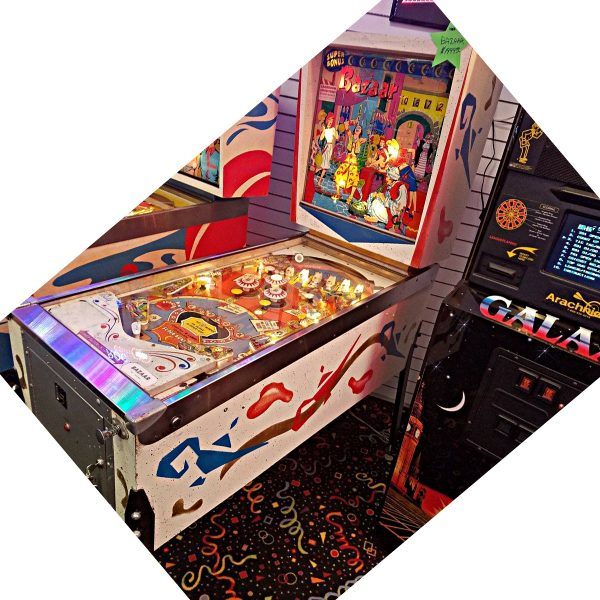 Bazaar Pinball Machine Bally