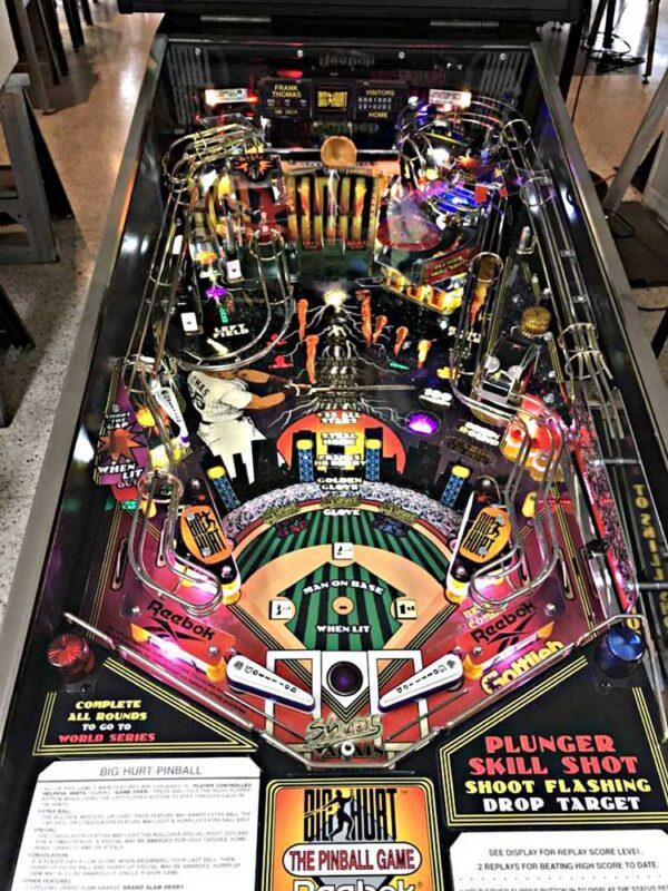 Frank Thomas Big Hurt Pinball Machine Playfield