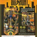 Frank Thomas Big Hurt Pinball Machine Flyer