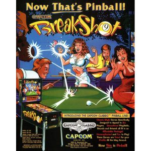 Breakshot Pinball Machine Flyer 300x300 - Breakshot Pinball Machine