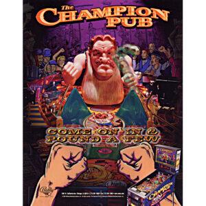 Champion Pub Pinball Machine Flyer 1 300x300 - Champion Pub Pinball Machine
