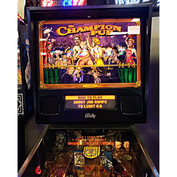 Champion Pub Pinball Machine Tampa