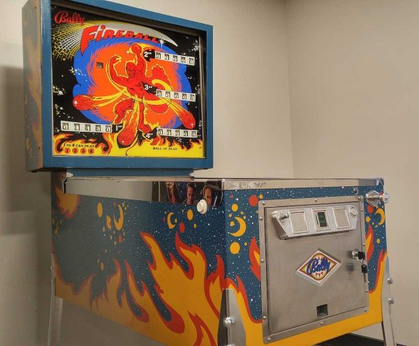 Fireball Pinball Machine by Bally