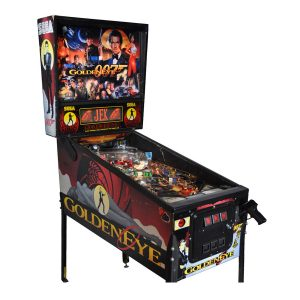 007 Goldeneye Pinball machine by Sega
