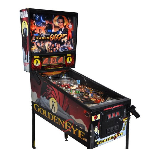 007 Goldeneye Pinball machine by Sega