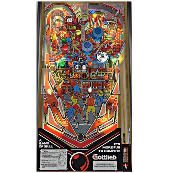 Hoops Pinball Machine Playfield