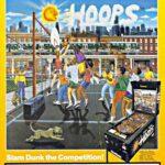 Hoops Pinball Machine Flyer