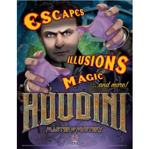 Houdini Pinball Machine Flyer