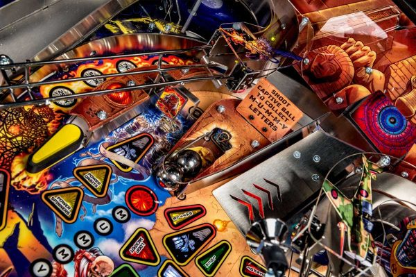 Iron Maiden Pro Pinball Machine by Stern