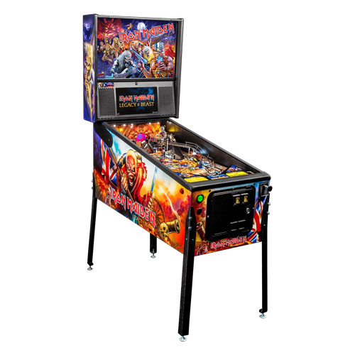 Iron Maiden Pro Pinball Cover - Arcade Game Services