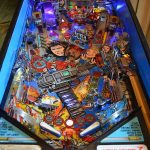Lethal Weapon 3 Pinball Machine Playfield