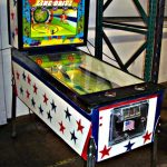 Line Drive Pinball Machine by Williams Electronics