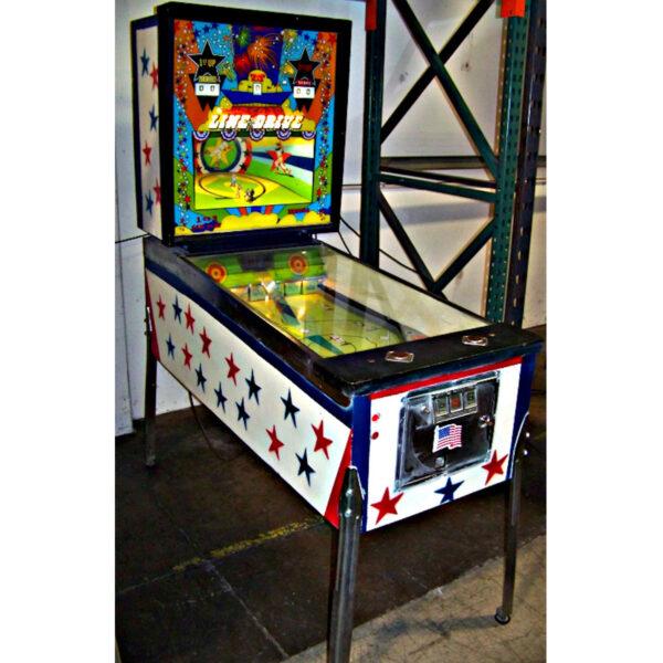 Line Drive Pinball Machine