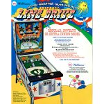 Line Drive Pinball Machine Flyer