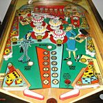 Little Joe Pinball Machine by Bally Playfield
