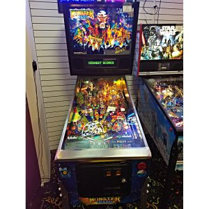 Monster Bash Pinball Chicago Gaming