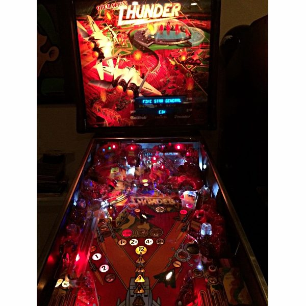 Operation Thunder Pinball 1 600x600 - Operation: Thunder Pinball Machine