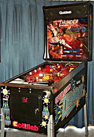 Operation: Thunder Pinball Machine