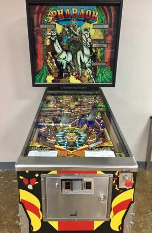 Pharaoh Pinball Machine by Williams Electronics