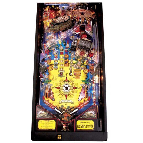 Pirates of the Caribbean Pinball Playfield