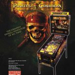 Pirates of the Caribbean Pinball Machine Flyer