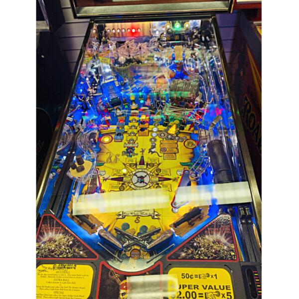 Pirates of the Caribbean Upgraded Pinball 600x600 - Pirates of the Caribbean Pinball Machine - Upgraded!