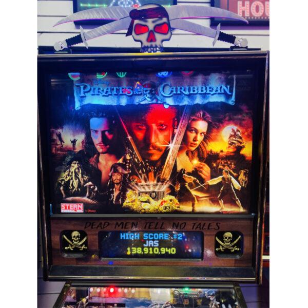 Pirates of the Caribbiean Pinball upgraded 2 600x600 - Pirates of the Caribbean Pinball Machine - Upgraded!