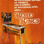 Road Kings Pinball Machine Flyer