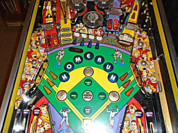 Silver Slugger Pinball Machine