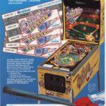 Silver Slugger Pinball Machine Flyer