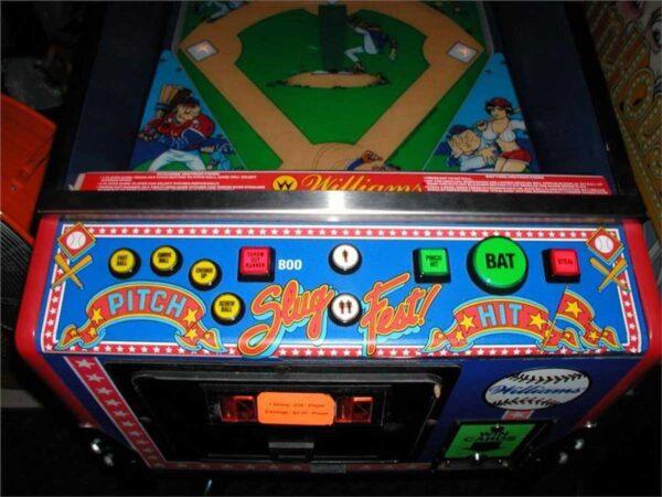 Slugfest Pinball Machine by Williams