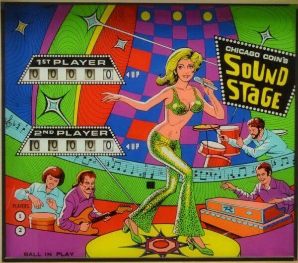 Sound Stage Pinball 31 600x529 - Sound Stage Pinball Machine