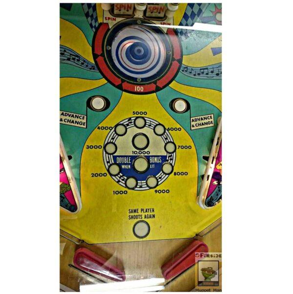 Sound Stage Pinball 7 1 600x601 - Sound Stage Pinball Machine