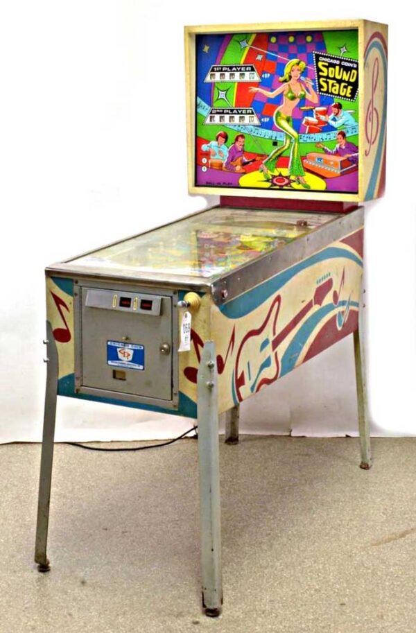 Sound Stage Pinball Cover1 600x913 - Sound Stage Pinball Machine