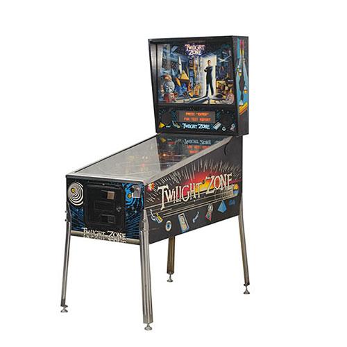 twillight zone pinball - Arcade Game Services