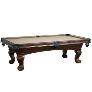 Lincoln Pool Table Antique Walnut