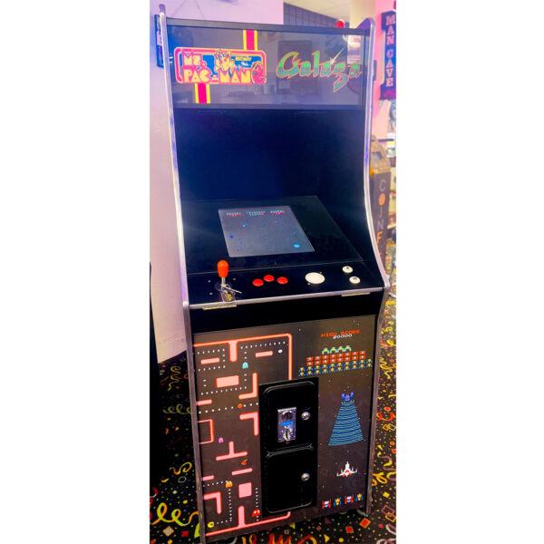 Ms. Pac Man Class of 81 Arcade 600x600 - Ms. Pac-Man / Galaga Class of '81 Multicade Arcade