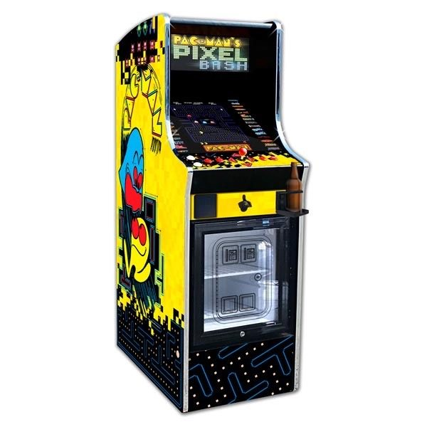 Pac-Man Pixel Bash Chill Arcade Machine