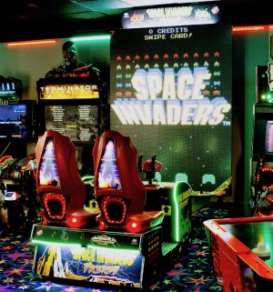 Space Invaders Frenzy Arcade 1 300x321 - Space Invaders Frenzy Arcade