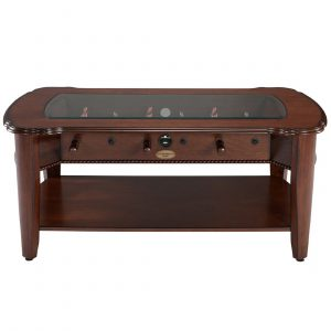 2 in 1 Foosball & Coffee Table Antique Walnut