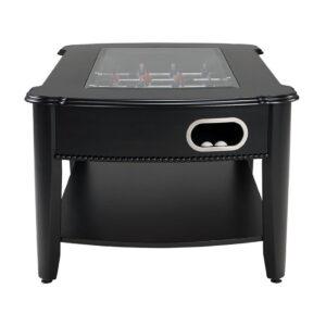 2 in 1 Foosball & Coffee Table in Black