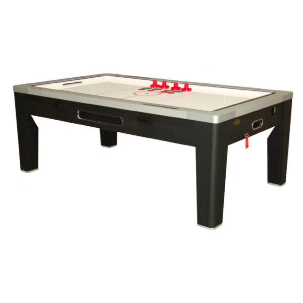 6 in 1 Multi Game Table Black 4