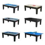 6 in 1 Multi Game Table (Black)