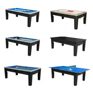 6 in 1 Multi Game Table (Black)
