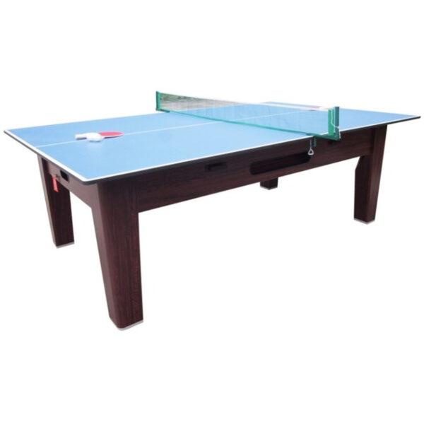 6 in 1 Multi Game Table Walnut 3