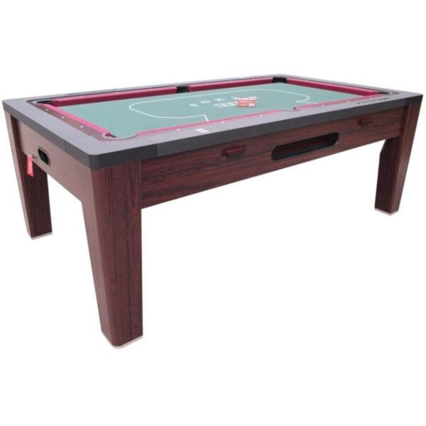 6 in 1 Multi Game Table Walnut 4