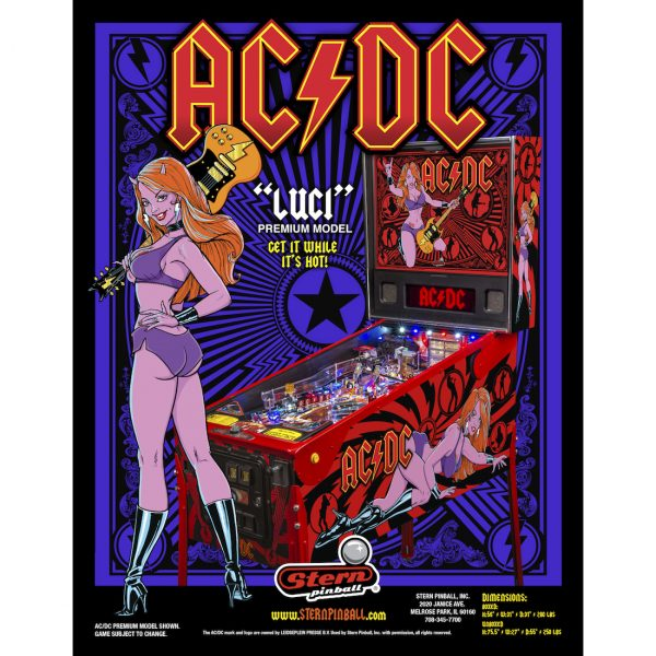 AC-DC Luci Pinball Flyer