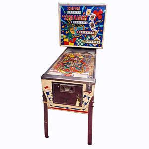 Super Straight Pinball Machine